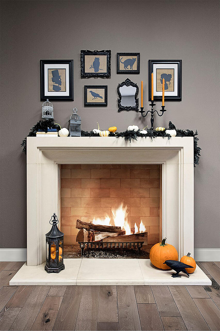8 Step Guide To Decorating Mantels This Halloween